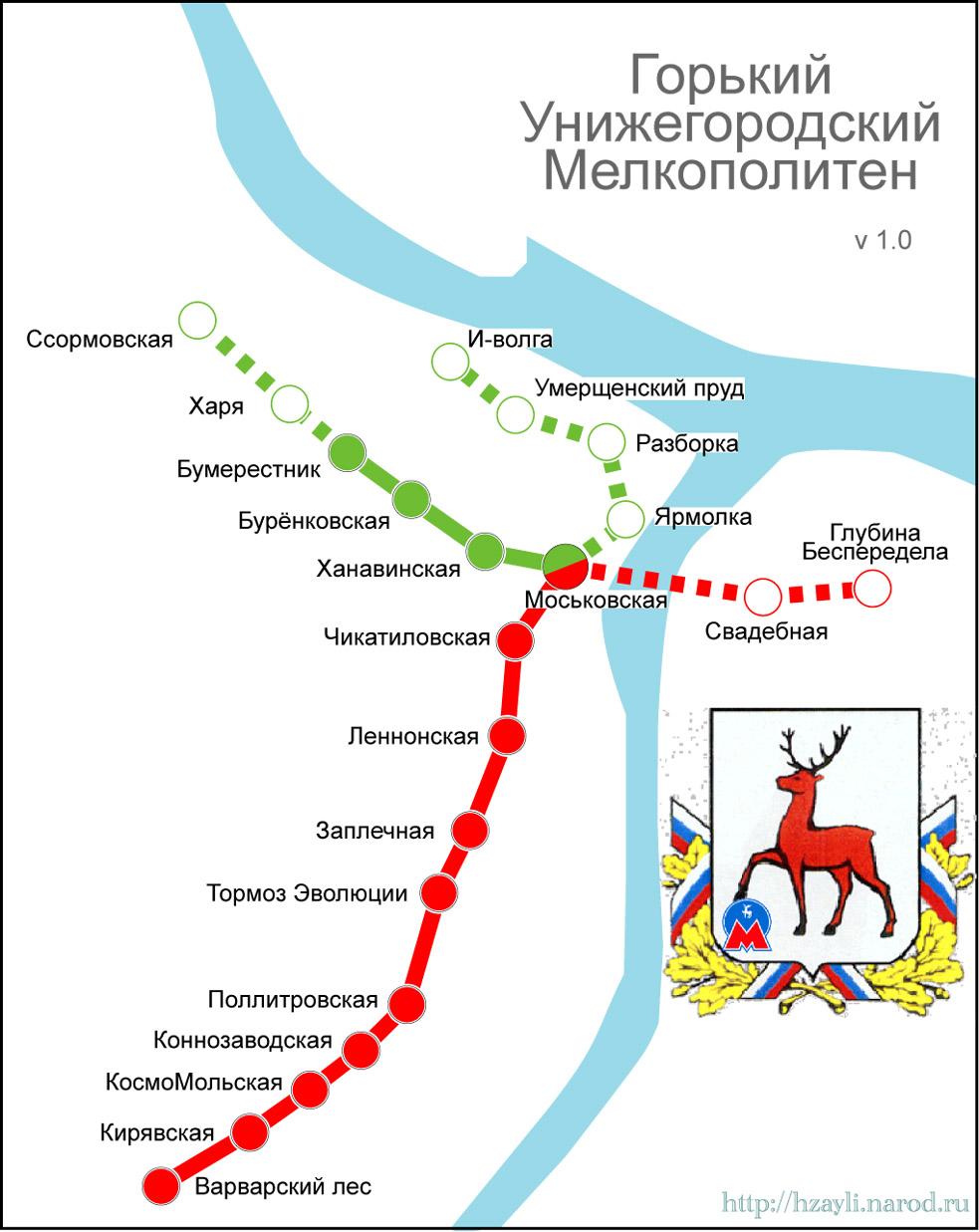 Схема метрополитена нижний новгород фото 419
