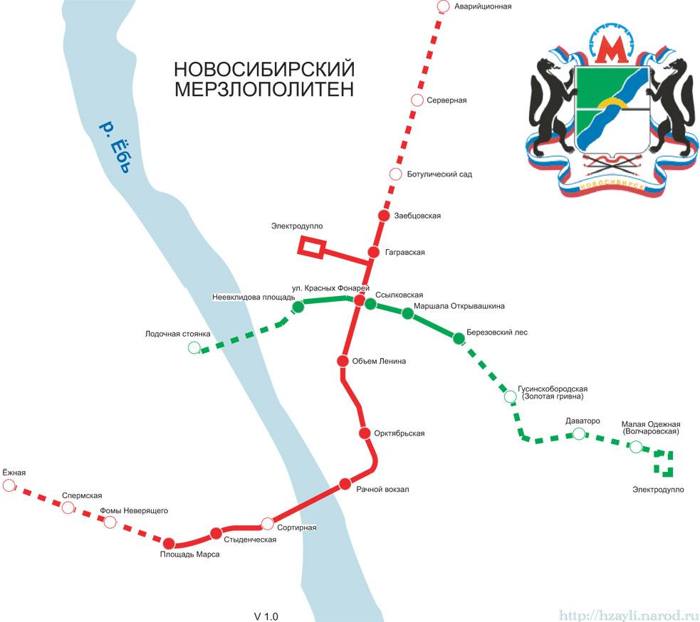 в Новосибирске 13 станций Немного отвлеку.  Сели с ребёнком станции считать (оказалось - я Кр.пр. с Сибирской не...